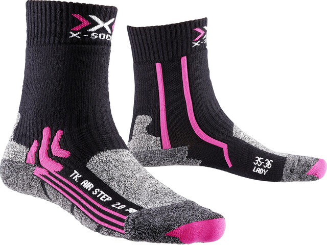 X-Bionic Air Step 2.0 Trekking Socks Women Black/Fuchsia